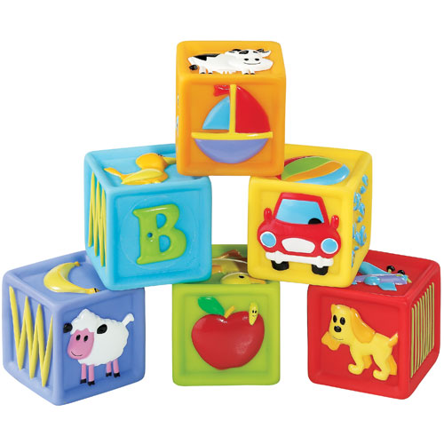 Although Your Child May Have Played With Blocks Before Now The 9 12 Month Old Will Find All Sorts Of Inventive Uses For Blocks