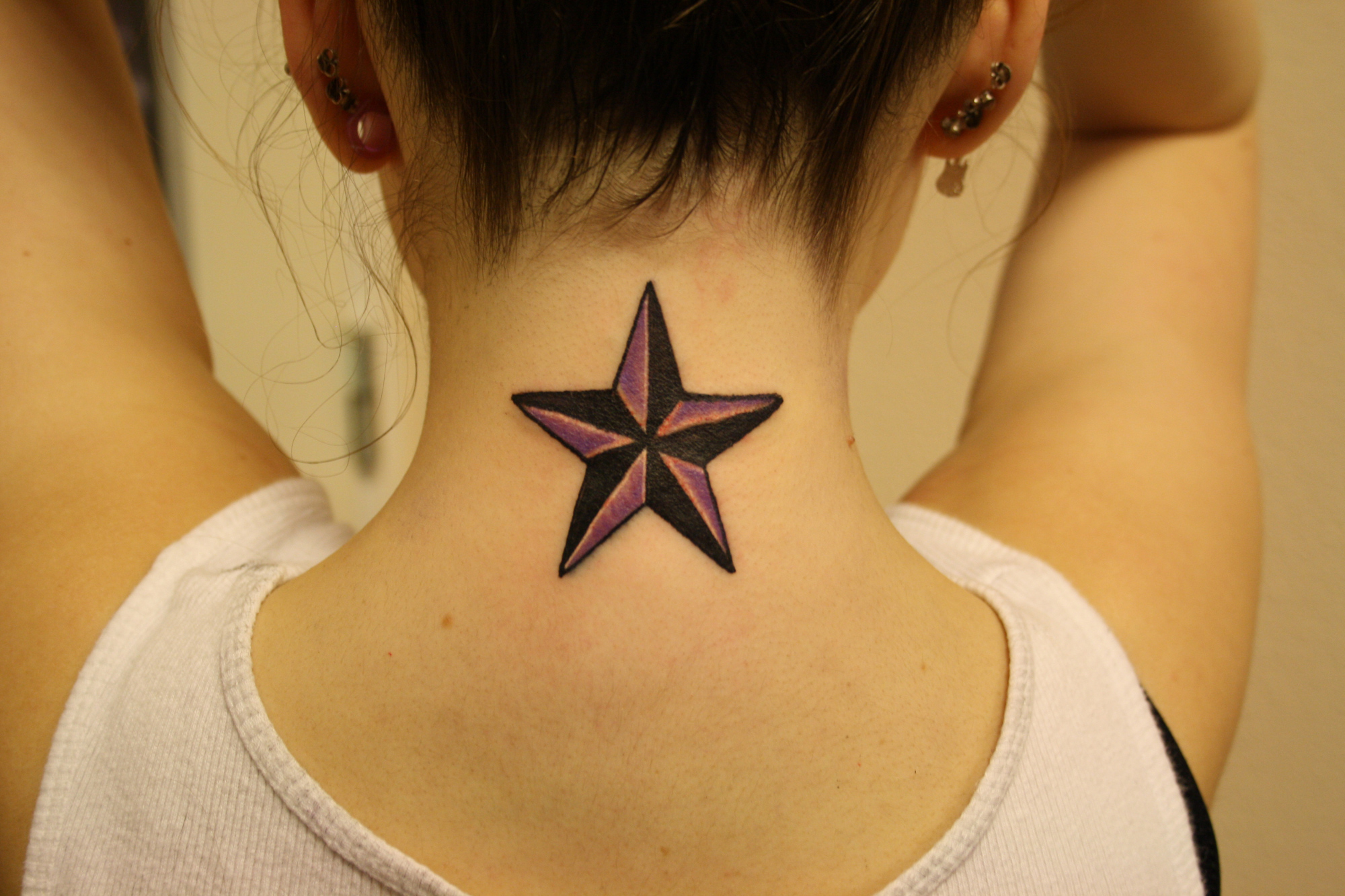 Nautical tattoos new health guide for Star tattoos meaning